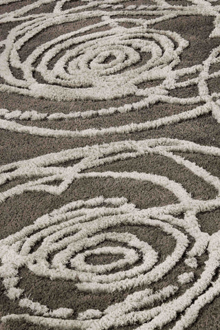 MAT Milano Rosa Area Rug Grey Sale