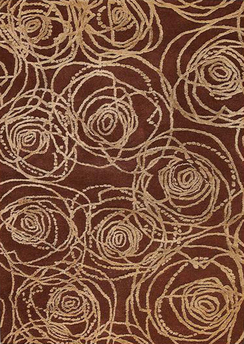 MAT Milano Rosa Area Rug Red Sale