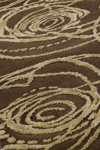 MAT Milano Rosa Area Rug Brown Sale