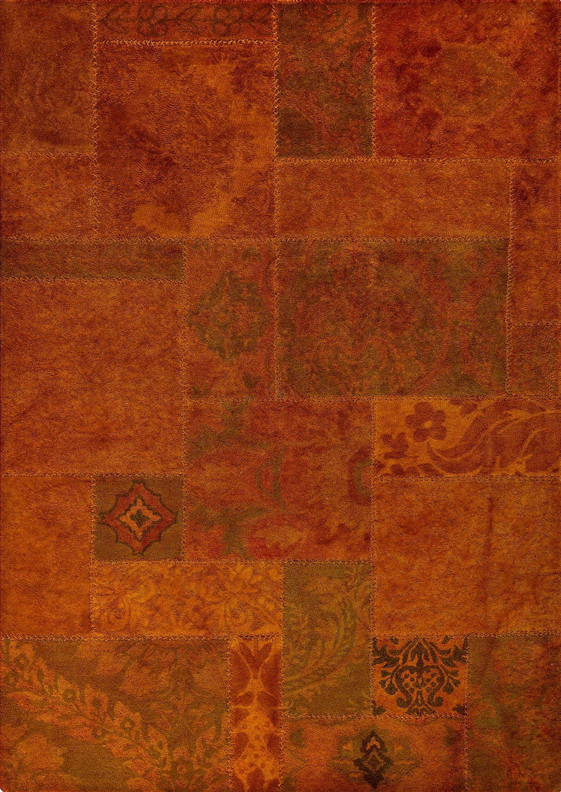MAT Vintage Sarangi Area Rug Orange