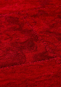 Vintage Luxury Traditional Patchwork Tufted Sarangi Red Area Rug Carpet