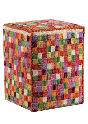 MAT Pouf Small Box Multi