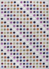 MAT Pico Smarties Area Rug White/Multi