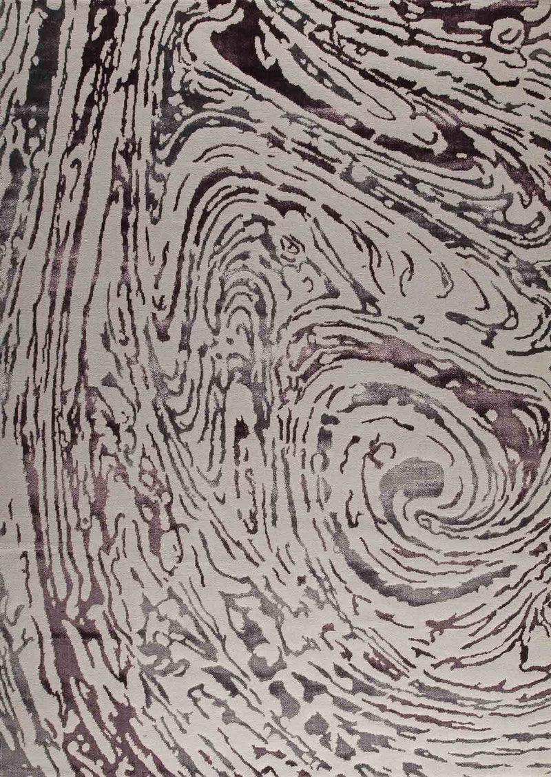 MAT Big Ben Swirl Area Rug Grey Purple Sale