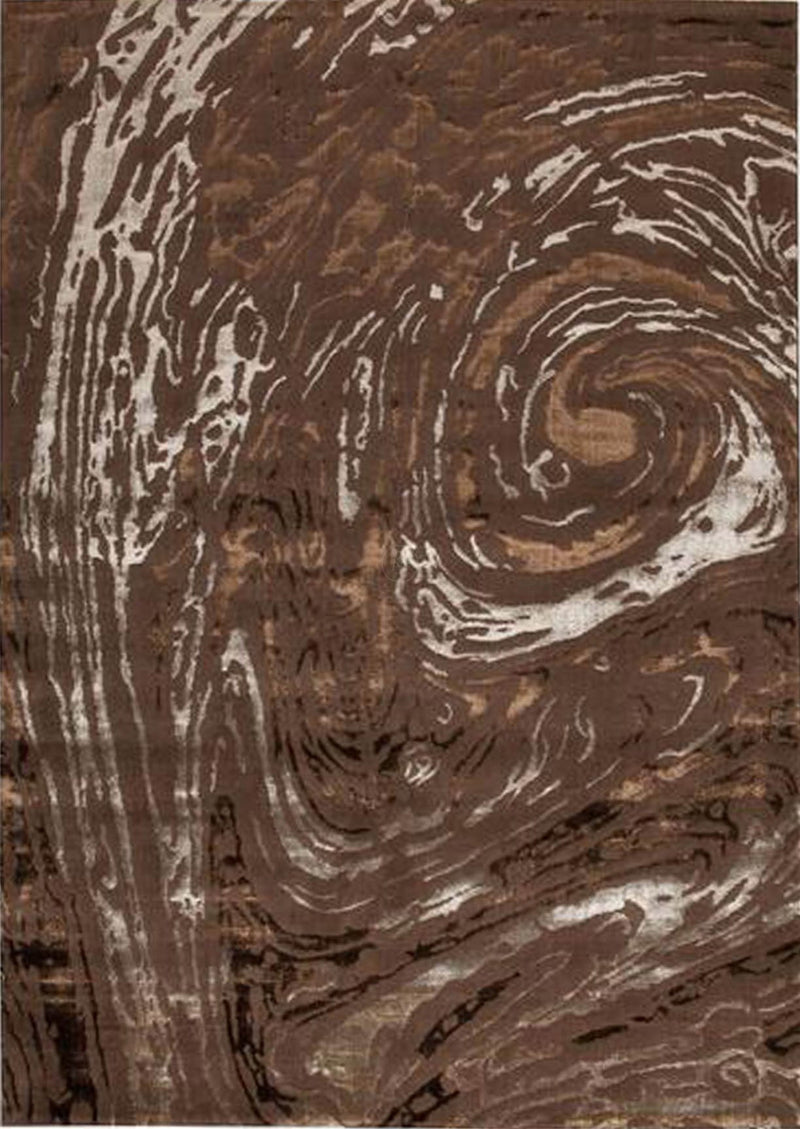 MAT Big Ben Swirl Area Rug Brown Sale