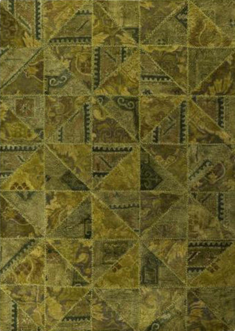 MAT Vintage Tile Area Rug Green Sale