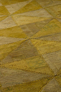 MAT Vintage Tile Area Rug Light Gold Sale