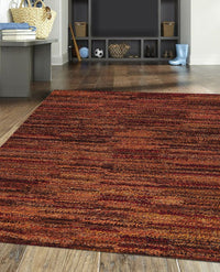 Mat Mat Mix Area Rug Rust Sale