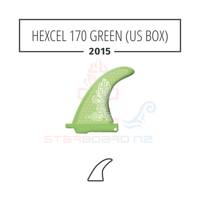 2015 STARBOARD SUP HEXCEL 170 POLYESTER GREEN (US BOX)