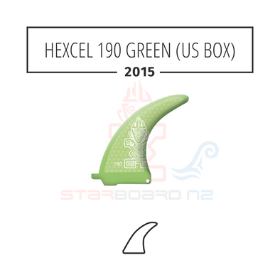 2015 STARBOARD SUP HEXCEL 190 POLYESTER GREEN (US BOX)