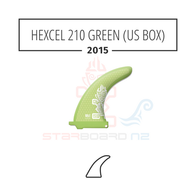 2015 STARBOARD SUP HEXCEL 210 POLYESTER GREEN (US BOX)