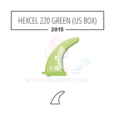 2015 STARBOARD SUP HEXCEL 220 POLYESTER GREEN (US BOX)