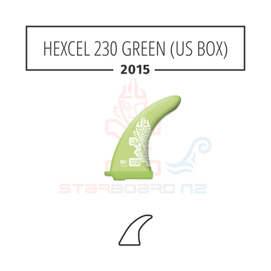 2015 STARBOARD SUP HEXCEL 230 POLYESTER GREEN (US BOX)