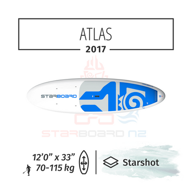 "2017 STARBOARD SUP 12'0"" x 33"" ATLAS Star Shot"