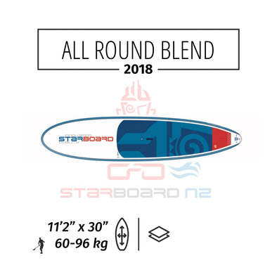 "2018 STARBOARD SUP ALL ROUND 11'2"" X 30"" BLEND"