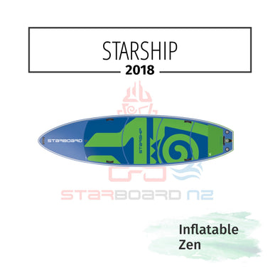 2018 INFLATABLE SUP STARSHIP FAMILY / FLAT WATER / SURFER ZEN
