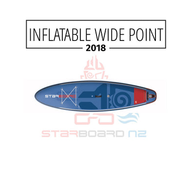 "2018 INFLATABLE SUP 9'5"" / 10'5""  WIDE POINT ZEN / DELUXE DC"