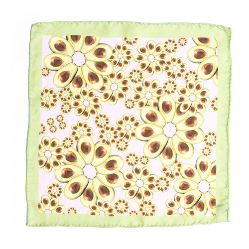 Eight Eight x Annabelle Lambie silk pocket square