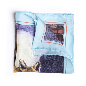 Eight Eight x Jonny Leigh silk pocket square