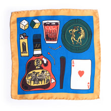Eight Eight x Tiago Majuelos silk pocket square
