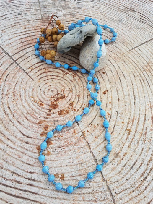 Light blue Soroti necklace