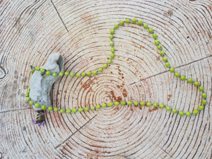 Yellow Soroti necklace