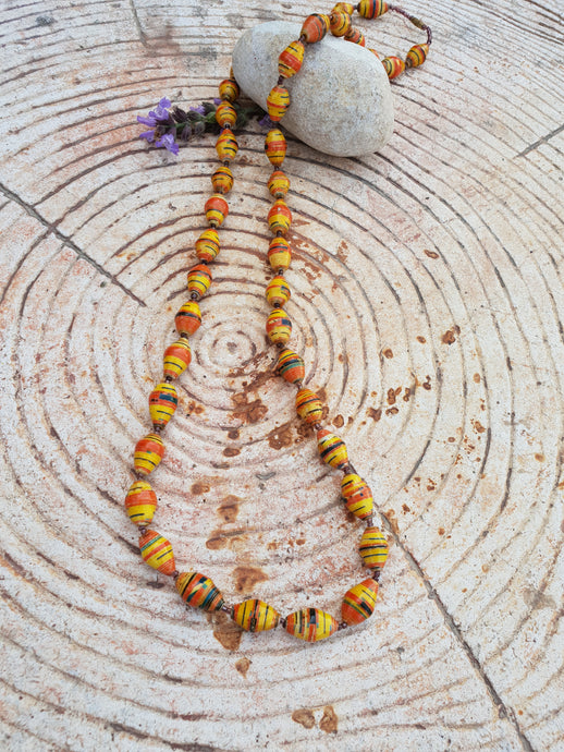 Orange Soroti necklace