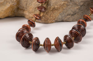 Brown muyenga necklace