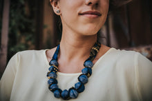 Dark blue Nakasero necklace