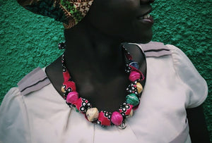 Pink colorful Nakasero