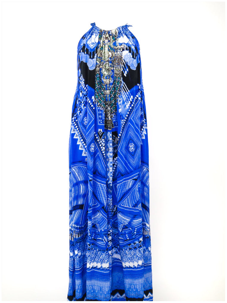 Camilla Silk Maxi Dress