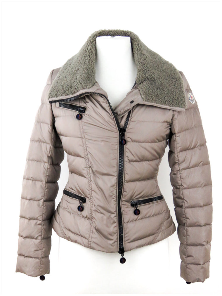 Moncler Champagne Puffer Jacket