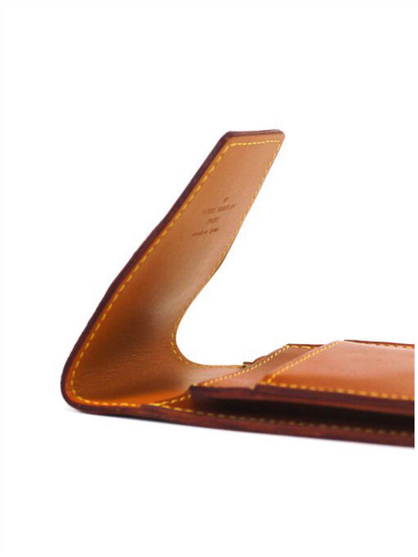 LOUIS VUITTON Nomade Etui Cigarette Case Caramel