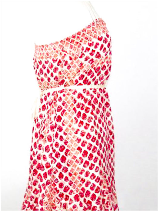 Edun Silk Pink detailed Dress