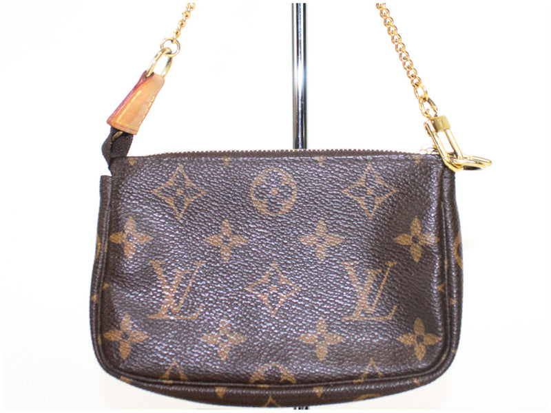 Louis Vuitton Mini Porchette Monogram Chain Strap Bag
