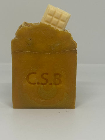Caramilk cold press soap