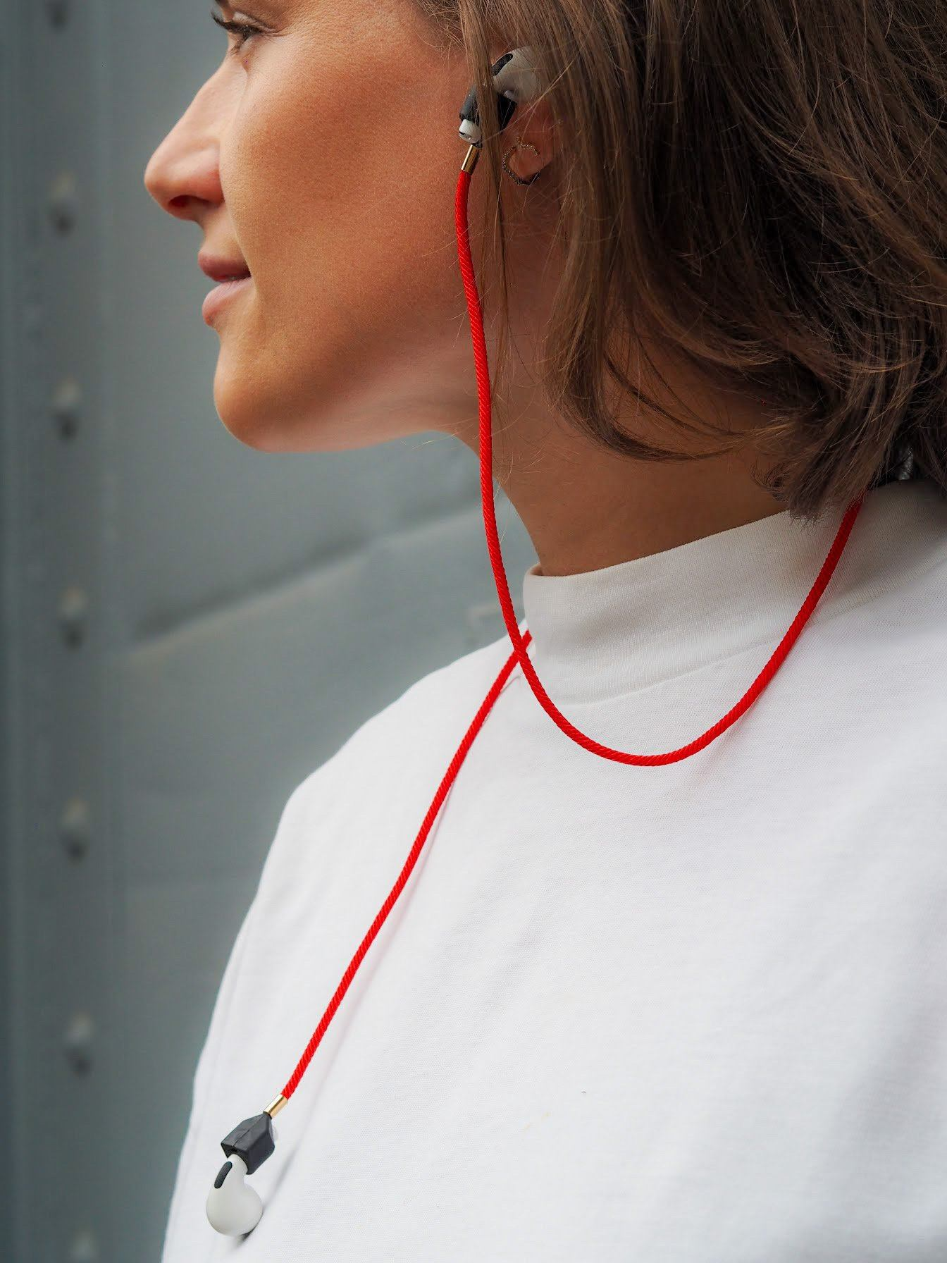 e:slings - Straps für AirPod und Airpod Pro AirPod Straps Keest Berlin red