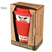 Bamboo Travel Mug - Apples