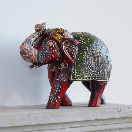 Almirah Antique Style Elephant - Large