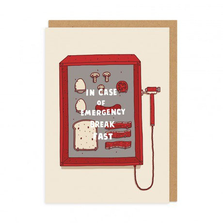 In Case of an Emergency Greeting Card
