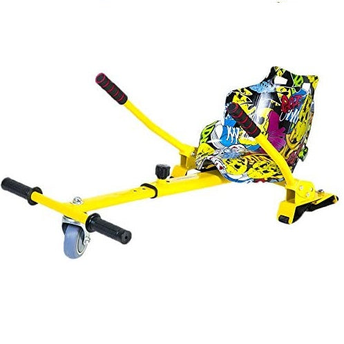Graffiti Hoverkart Go Kart Adjustable HoverGoKart