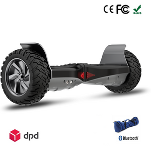 "Sale! APP ENABLED 8.5"" All Terrain Off Road Hummer Hoverboard Segway"