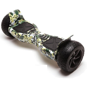 "8.5"" All Terrain Off Road Hummer Hoverboard Segway Camo"