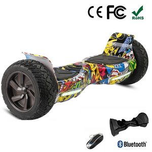 "Sale! 8.5"" All Terrain Off Road Hummer Hoverboard Segway Graffiti"