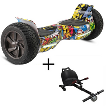 "BUNDLE Sale!  8.5"" All Terrain Hoverboard +HoverKart"