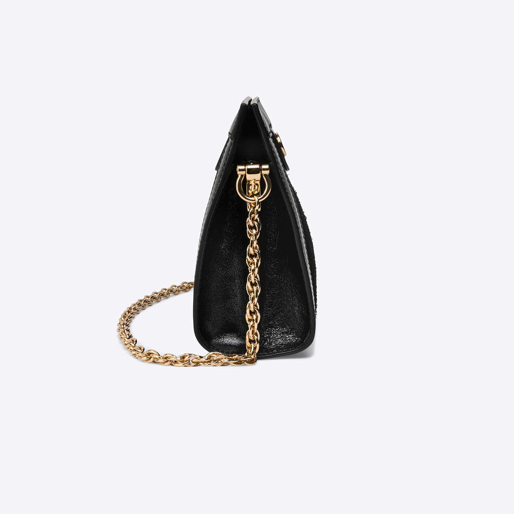 Ophidia GG small shoulder bag Black