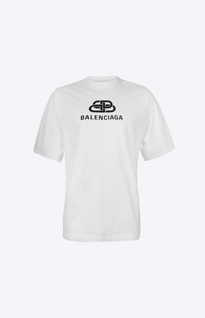 OVERSIZED BB BALENCIAGA T-SHIRT - White
