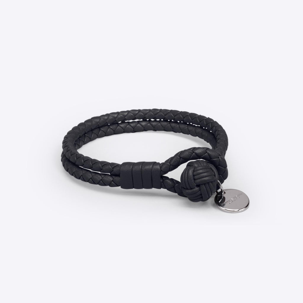 Bottega Veneta - Bracelet in Nero nappa Accessories – Collage