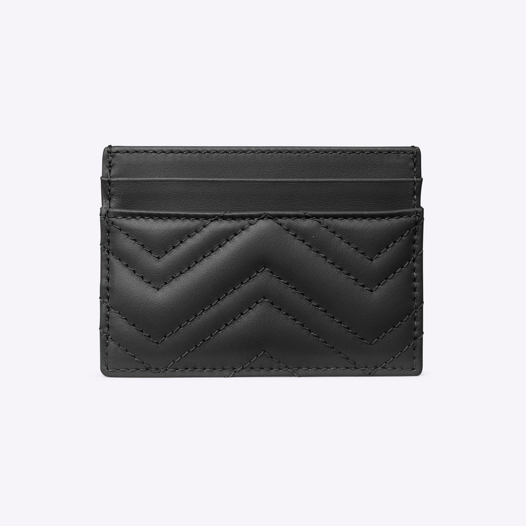 Gucci GG Marmont card case - black