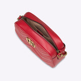 Gucci GG Marmont small matelassé shoulder bag - red